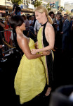 Jada Pinkett Smith in Ermanno Scervino and Elizabeth Banks in Balmain