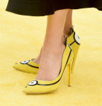 Sandra Bullock's Rupert Sanderson 'Bello Yellow' pumps