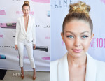 Gigi Hadid In Smythe - Maybelline New York 100th Anniversary Party