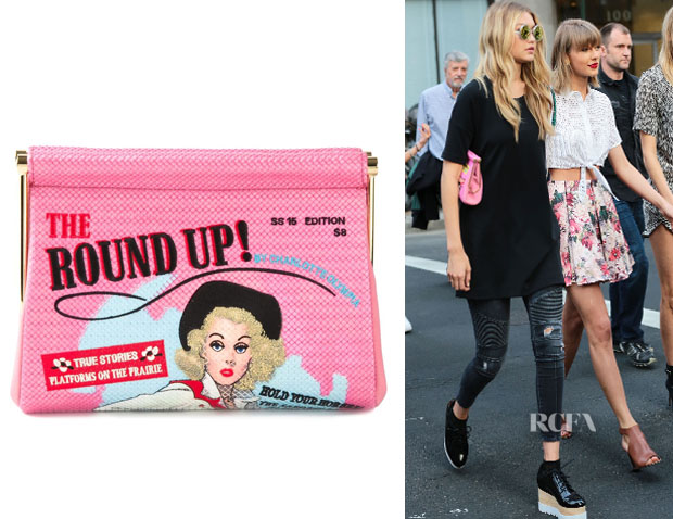 Gigi Hadid's Charlotte Olympia 'Round Up Maggie' Clutch