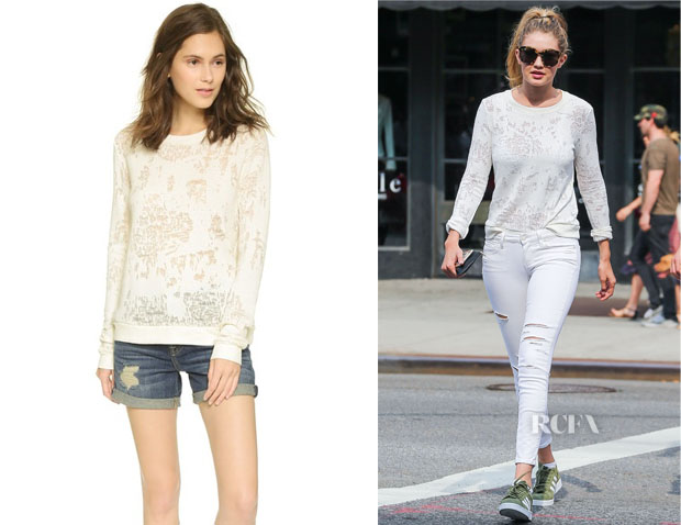 Gigi Hadid's Paige Denim 'Josette' Sweatshirt
