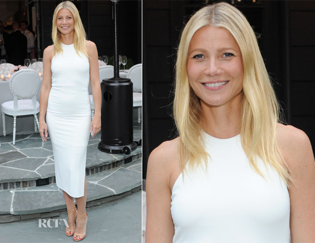 Gwyneth Paltrow In Alice + Olivia - Windsor Smith's Homefront Celebration