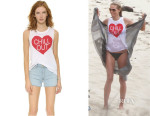 Heidi Klum's Chaser 'Chill Out' Tee