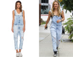 Hilary Duff's Current/Elliott 'The Ranchhand' Overalls