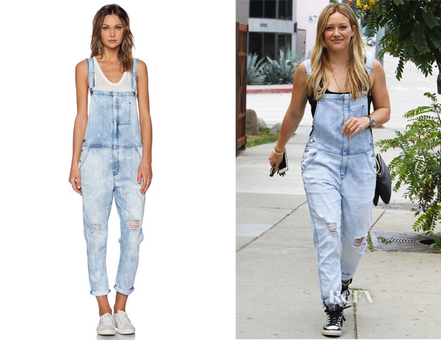 Hilary Duff's CurrentElliott 'The Ranchhand' Overalls