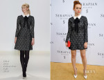 Holland Roden In ERIN Erin Fetherston - Serapian Milano Store Opening