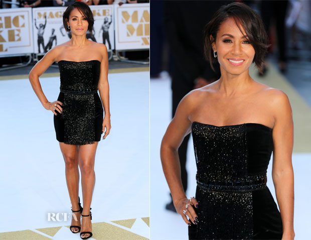 Jada Pinkett-Smith In Balmain - 'Magic Mike XXL' London Premiere