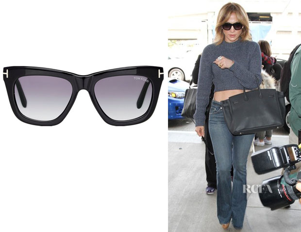 Jennifer Lopez' Tom Ford 'Celina' Sunglasses