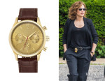 Jennifer Lopez' Vince Camuto Embossed Leather Strap Watch