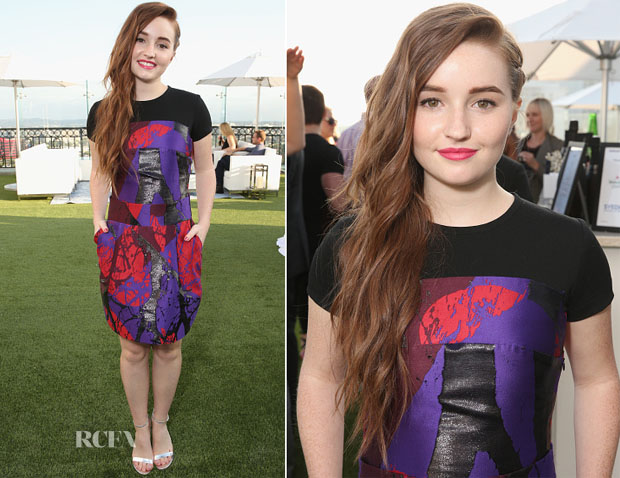 Kaitlyn Dever In Risto - TheWrap's 2nd Annual Emmy Party