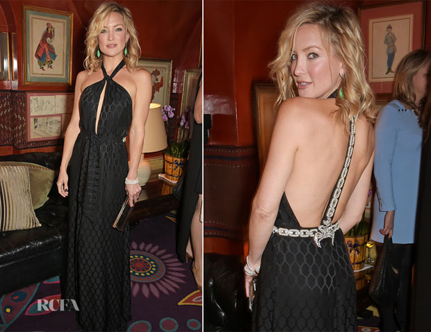 Kate Hudson In Temperley London - Goldie's Love-In For The Kids' 4th Annual Hawn Foundation UK Fundraising Dinner