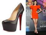 Kendall Jenner's Christian Louboutin 'Victoria Kid' Platform Pumps