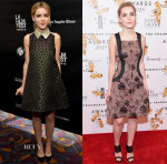 Kiernan Shipka In Valentino & Prabal Gurung - 'Fan Girl' LA Screening & 2015 Fragrance Foundation Awards