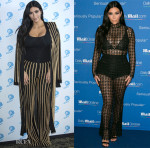 Kim Kardashian In Balmain &  LaQuan Smith - Cannes Lions International Festival of Creativity