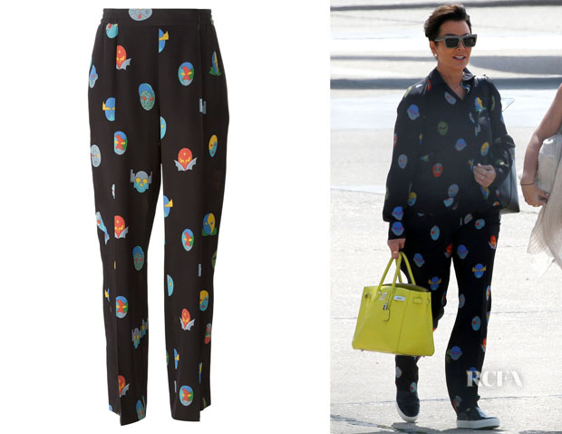 Kris Jenner's Stella McCartney 'Superstellaheroes Cicely' Trousers