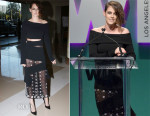 Kristen Stewart In Proenza Schouler - Women in Film 2015 Crystal + Lucy Awards