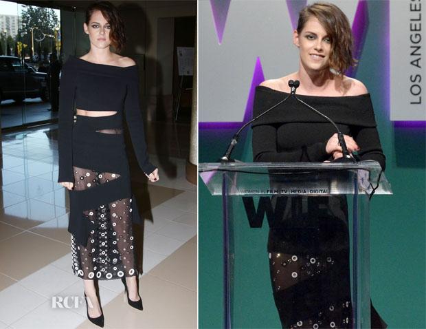 Kristen Stewart In Proenza Schouler - Women in Film 2015 Crystal + Lucy Awards