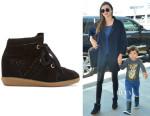 Miranda Kerr's Isabel Marant 'Bobby' Sneakers