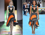 Naomie Harris In Peter Pilotto - 'Entourage' London Premiere