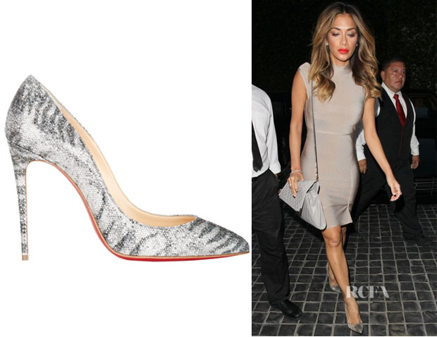 replica christian laboutin - Nicole Scherzinger\u0026#39;s Christian Louboutin \u0026#39;Pigalle Follies\u0026#39; Pumps ...