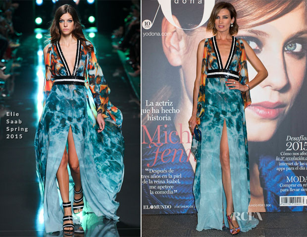 Nieves Alvarez In Elie Saab - Yo Donna Awards 2015