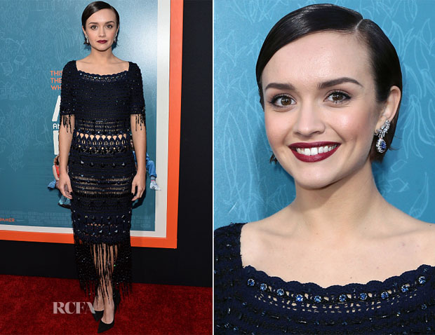 Olivia Cooke In Miu Miu - 'Me And Earl And The Dying Girl' Premiere