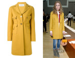 Olivia Palermo's Valentino Single Breasted Coat