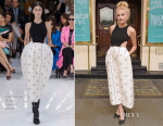 Pixie Lott In Christian Dior - 'Breakfast At Tiffany's' Starring Pixie Lott Announcement