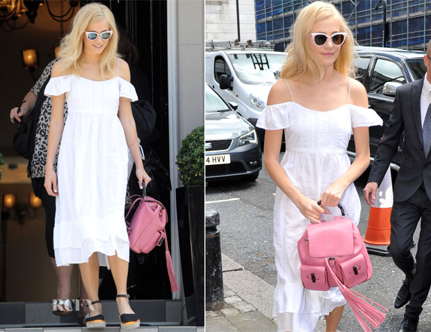 Pixie Lott In  Lulu Kennedy for Indigo Collection - Tyne Theatre