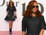 Rihanna In Christian Dior - Christian Dior Fall 2015 Tokyo Show