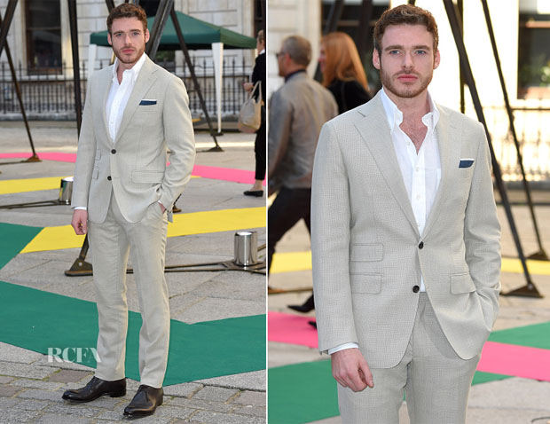 Richard Madden In Thom Sweeney - Royal Academy of Arts Summer Exhibition