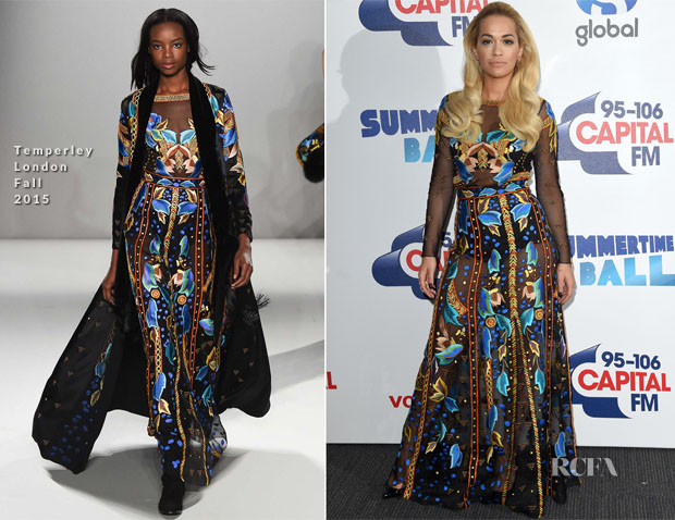 Rita Ora In Temperley London - Capital FM Summertime Ball