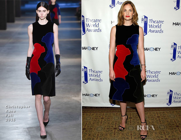 Ruth Wilson In Christopher Kane - 71st Annual Theatre World Awards