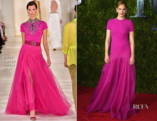 Ruth Wilson In Ralph Lauren - 2015 Tony Awards