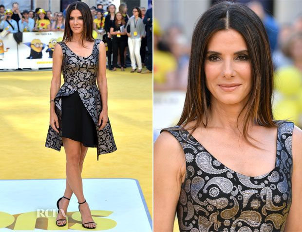 Sandra Bullock In Stella McCartney - 'Minions' - World Premiere