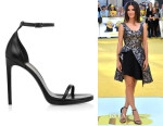 Sandra Bullock's Saint Laurent 'Jane' sandals