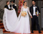 Sofia Hellqvist Weds Prince Carl Philip Of Sweden In Ida Sjöstedt