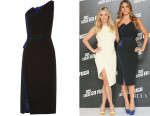 Sofia Vergara's Antonio Berardi One-Shoulder Crepe Dress