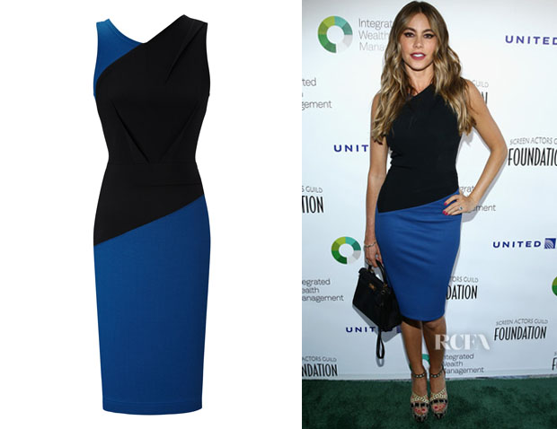 Sofia Vergara's Roland Mouret 'Arley' Dress
