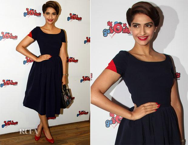 Sonam Kapoor In Dolce & Gabbana - Go Bonkers Launch