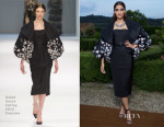Sonam Kapoor In Ralph & Russo Couture - Bvlgari unveiling of High Jewellery Collection