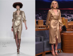 Taylor Schilling In Georgine - The Tonigth Show Starring Jimmy Fallon