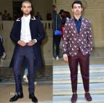 Valentino Spring 2016 Menswear Front Row