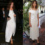 Who Wore Alessandra Rich Better...Keira Knightley or Alexa Chung?