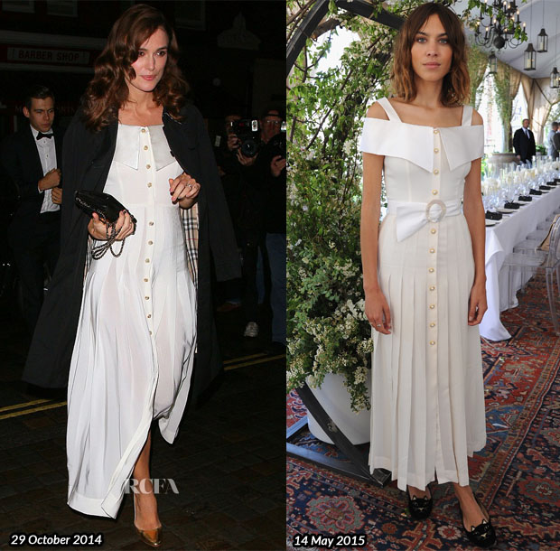 Who Wore Alessandra Rich Better Keira Knightley or Alexa Chung