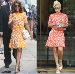 Who Wore Tanya Taylor Better...Kerry Washington or Lady Gaga?