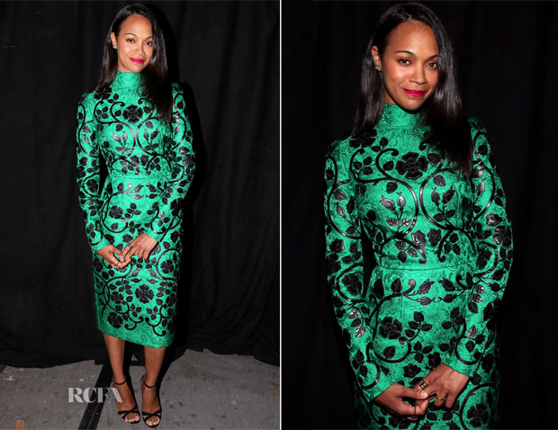 Zoe Saldana In Dolce & Gabbana - Spike TV's Guys Choice 2015