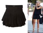 Alex Gerrard's Isabel Marant Pleated Skirt