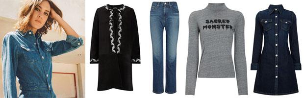 Alexa Chung x AG Jeans 2