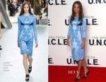 Alicia Vikander In Louis Vuitton - 'The Man From U.N.C.L.E.' London Photocall